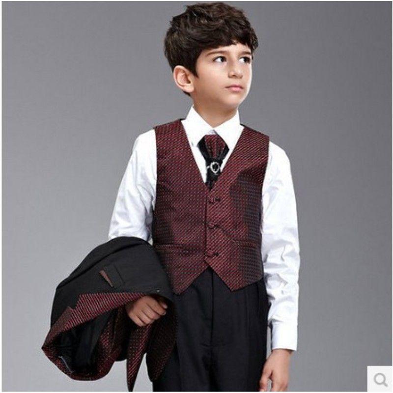 New High Quality Gentlemen Childrens Set Kids Suits Blazers Fashion