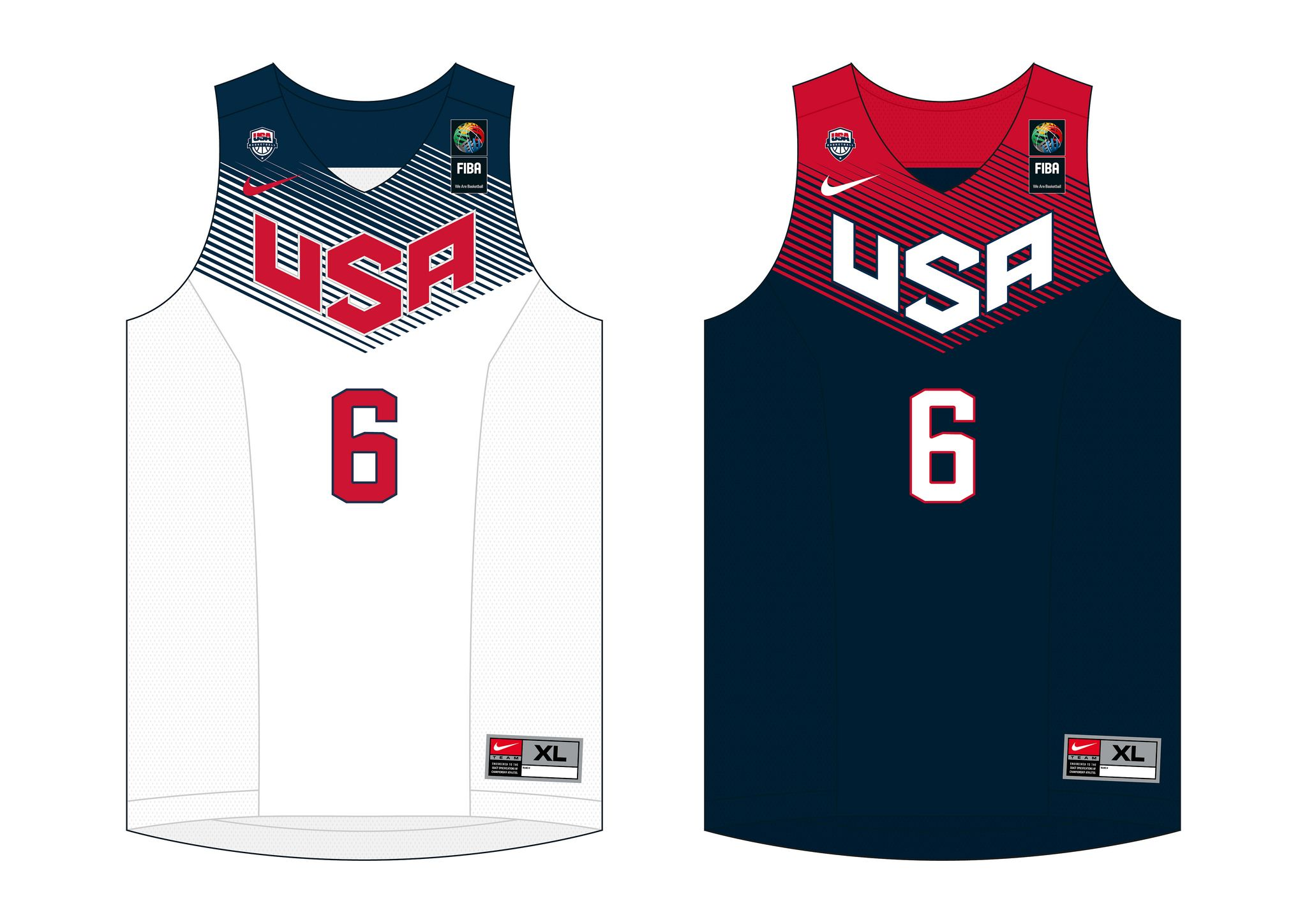 fcdf787ca USA Basketball jersey (FIBA World Championship 2014