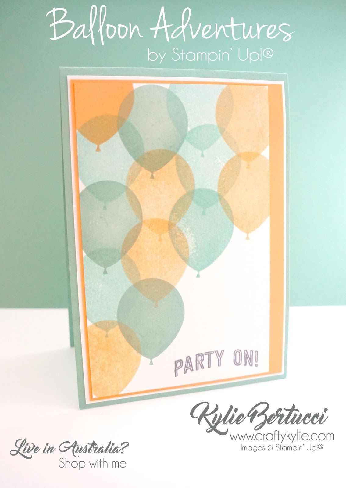 New Video Facebook Live Chat Balloon Adventures Card Ideas