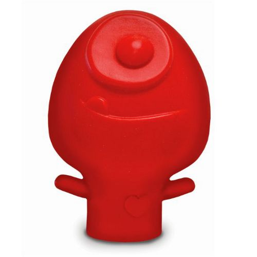 This Talisman Designs Yolk Hero egg separator will be a great tool in your kitchen. It is fabricated from silicone and features a red exterior. The Yolk Hero egg separator suctions eggs out of their shell in one squeeze. Squeeze once more to release the yolk.