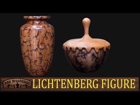 How To Burn Wood With Electricity - Lichtenberg Figures! - YouTube