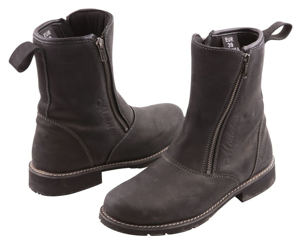 Modeka Kibara   Motorcycle boots, Boots, Black boots