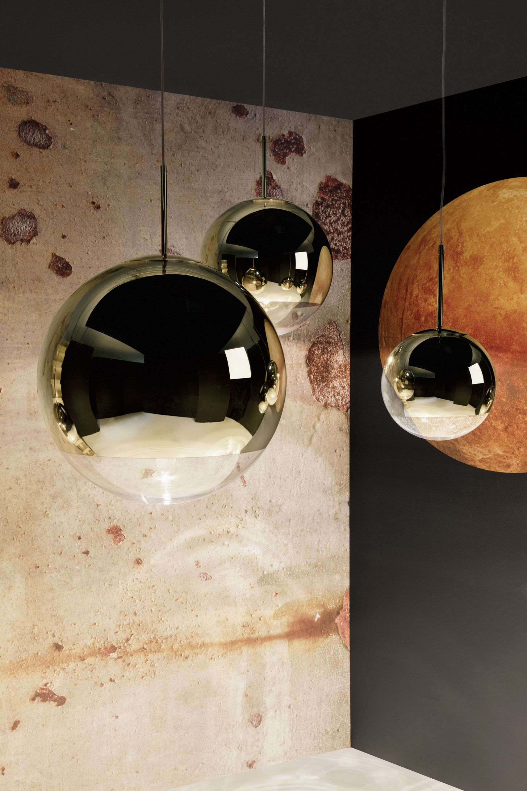 Mirror Ball Gold 15 Off All Tom Dixon Lighting Furniture And Accessories Now Thru October 15th Shop Ball Pendant Lighting Wall Lighting Design Mirror Ball