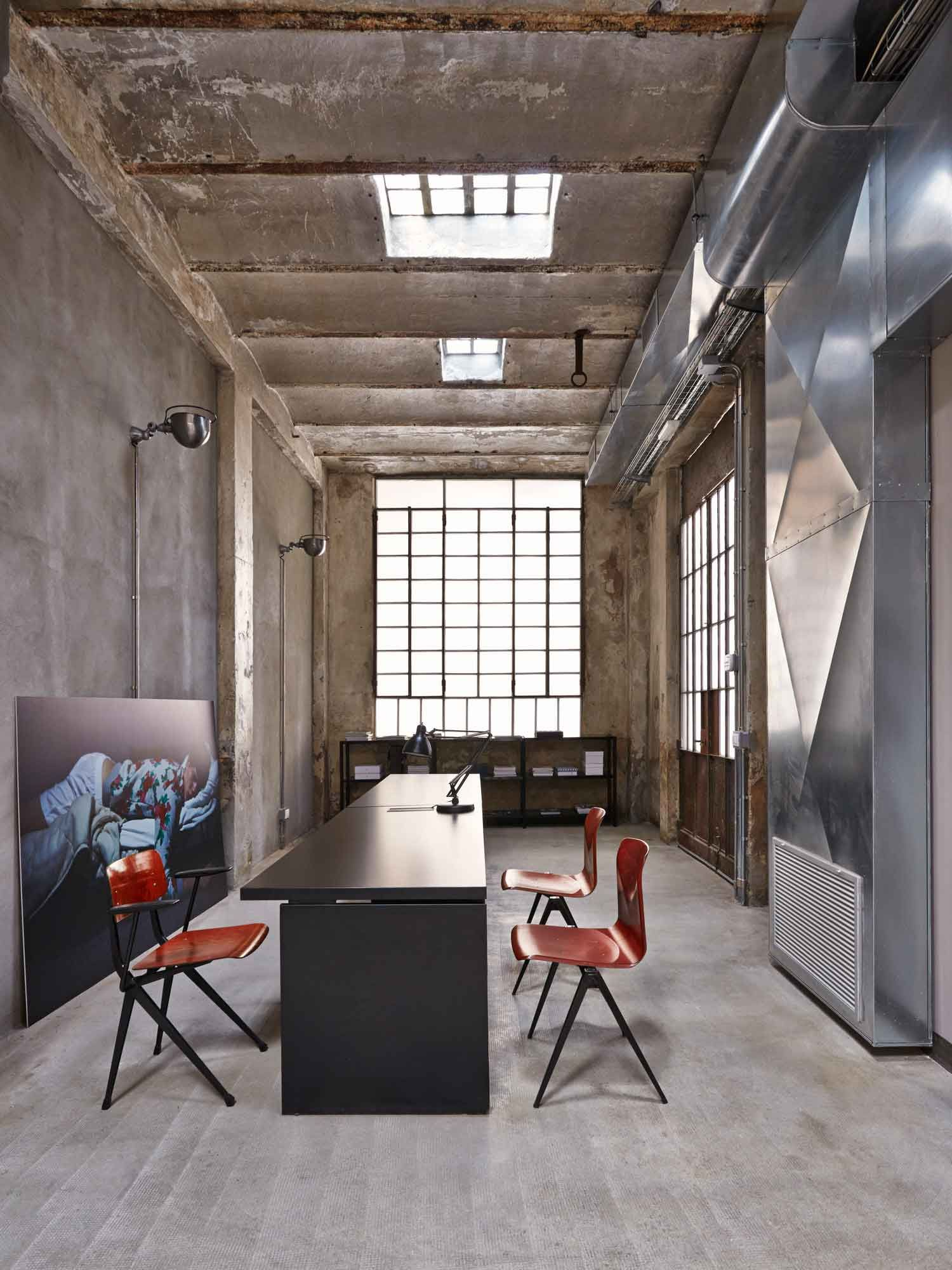 interesting office spaces. MSGM Fashion Headquarters By Fabio Ferrillo. Loft SpacesOffice WorkspaceCool Interesting Office Spaces E