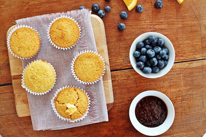 Honey cornbread muffins from The Nutritional Epiphany