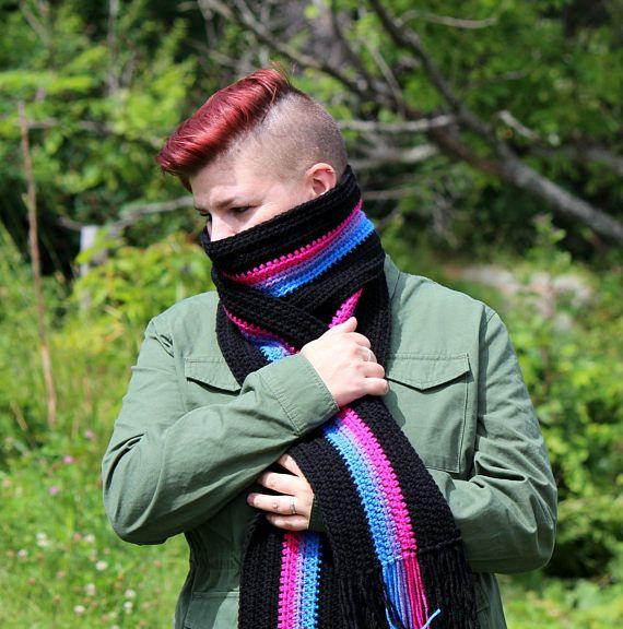 Lgbt rainbow bandana face head mask, gay pride parade dog scarf handkerchief new