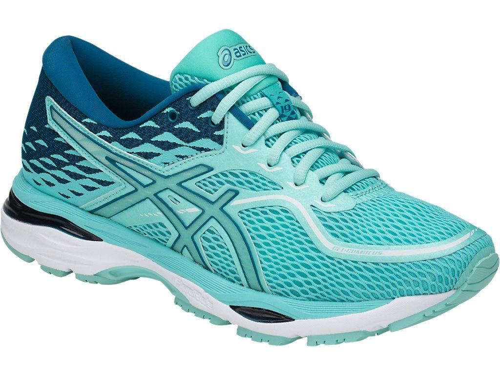 Asics GEL Cumulus 19 19 19 Women Running shoes Aruba bluee