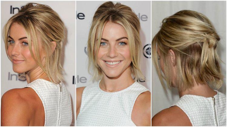 Frisuren Kurze Haare Nachmachen Halboffen #newyearseve #hairstyles