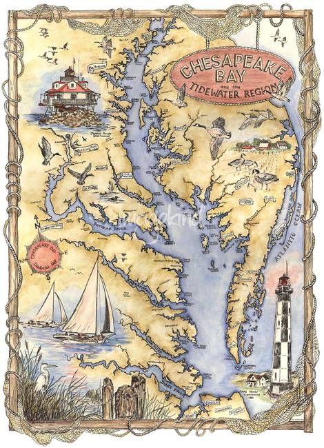 Chesapeake Bay  Chesapeake bay Boating and Maryland