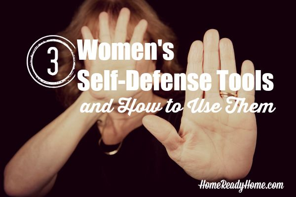 Here are the best women's self defense tools plus strategies and tactics for using them.