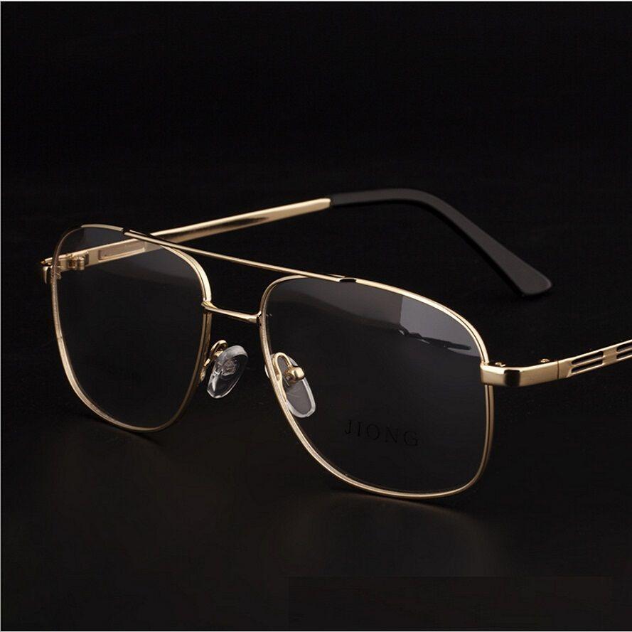Brand Designer Retro Gold Eyeglasses Frames Men Eye Glasses Frames ...