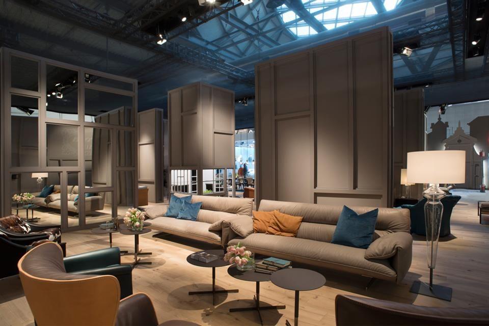 Poltrona Frau Mestre.Poltrona Frau In Milan Interior Design Living Room