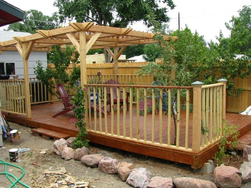 Floating Deck Idea Very Similar To What We Are Gonna Do Gazebo