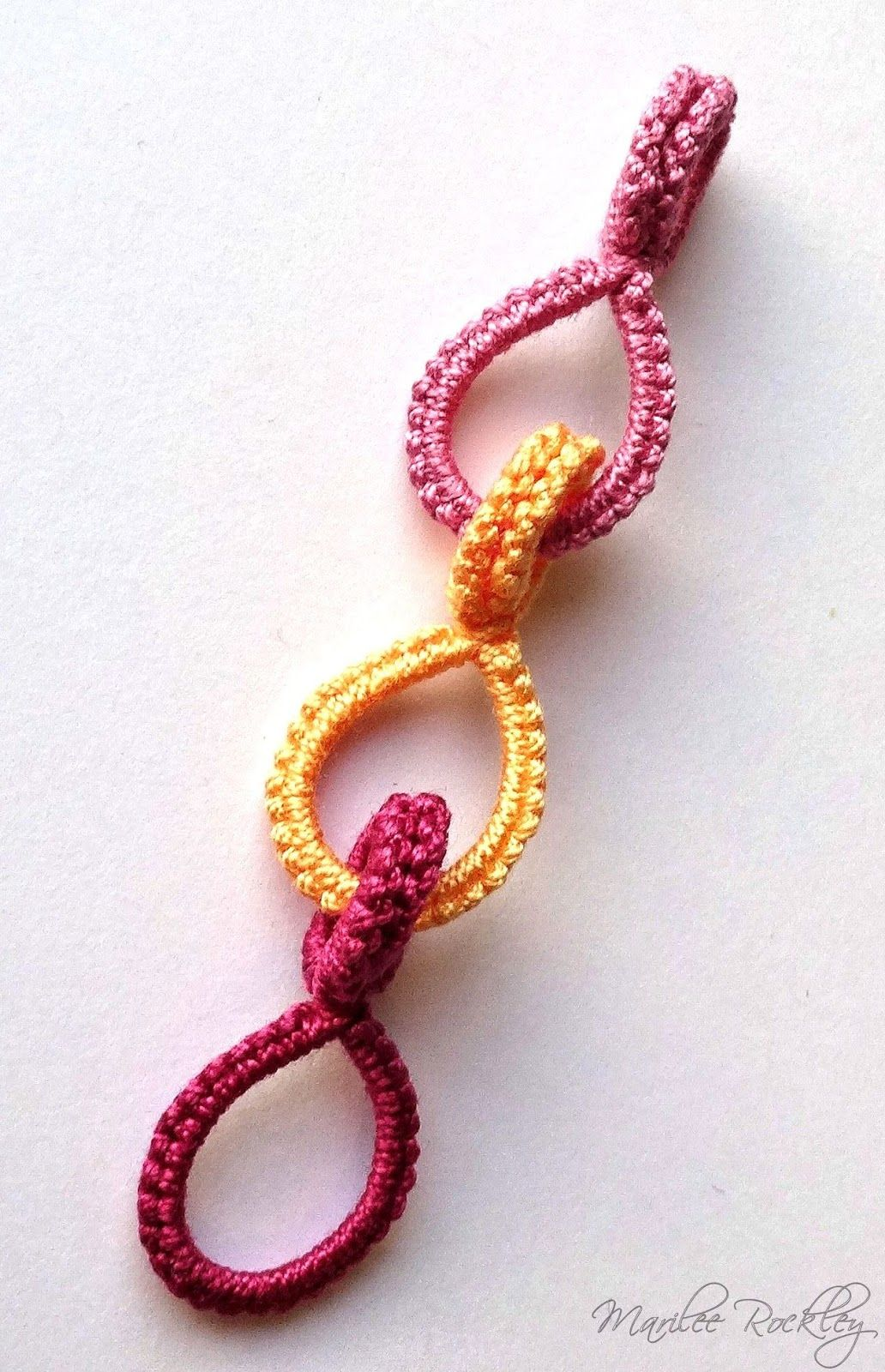 Chiacchierino Blog di Yarnplayer: Tatted Cotter Pin Links Tutorial ...