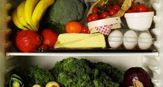Guía para almacenar los alimentos frescos