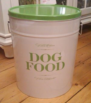 Charmant Dog Food Storage Container, This Would Look So Much Better Than Our Non  Broken Tupperware Container