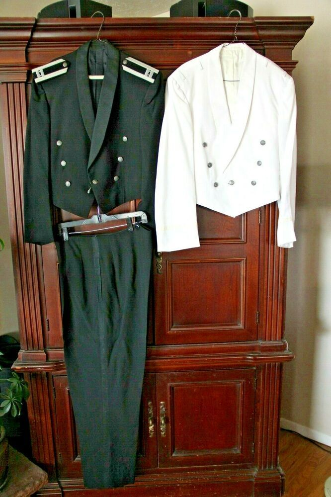 VintageUS Air ForceMilitary Officer White Formal Mess