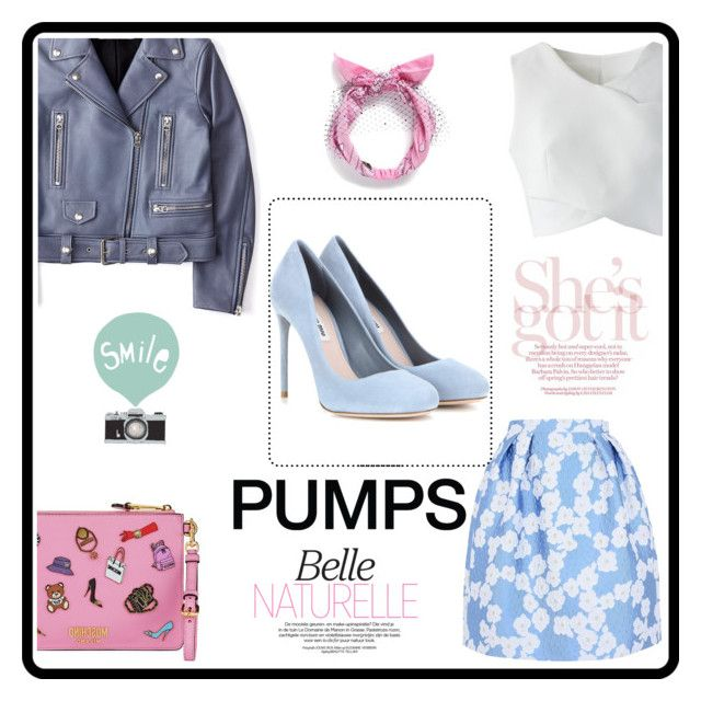 """""""Pumps It Up"""" by marianti on Polyvore featuring Giorgio Grati, Chicwish, Piers Atkinson, Miu Miu, Acne Studios, Moschino, Color, goout and pumpsitup"""