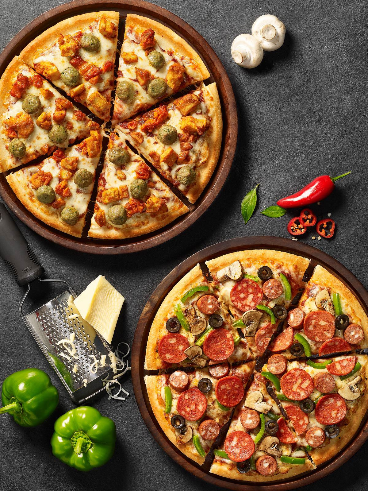Pizza Hut New Menu on Behance | Pizza | Pinterest | Cocina comercial ...