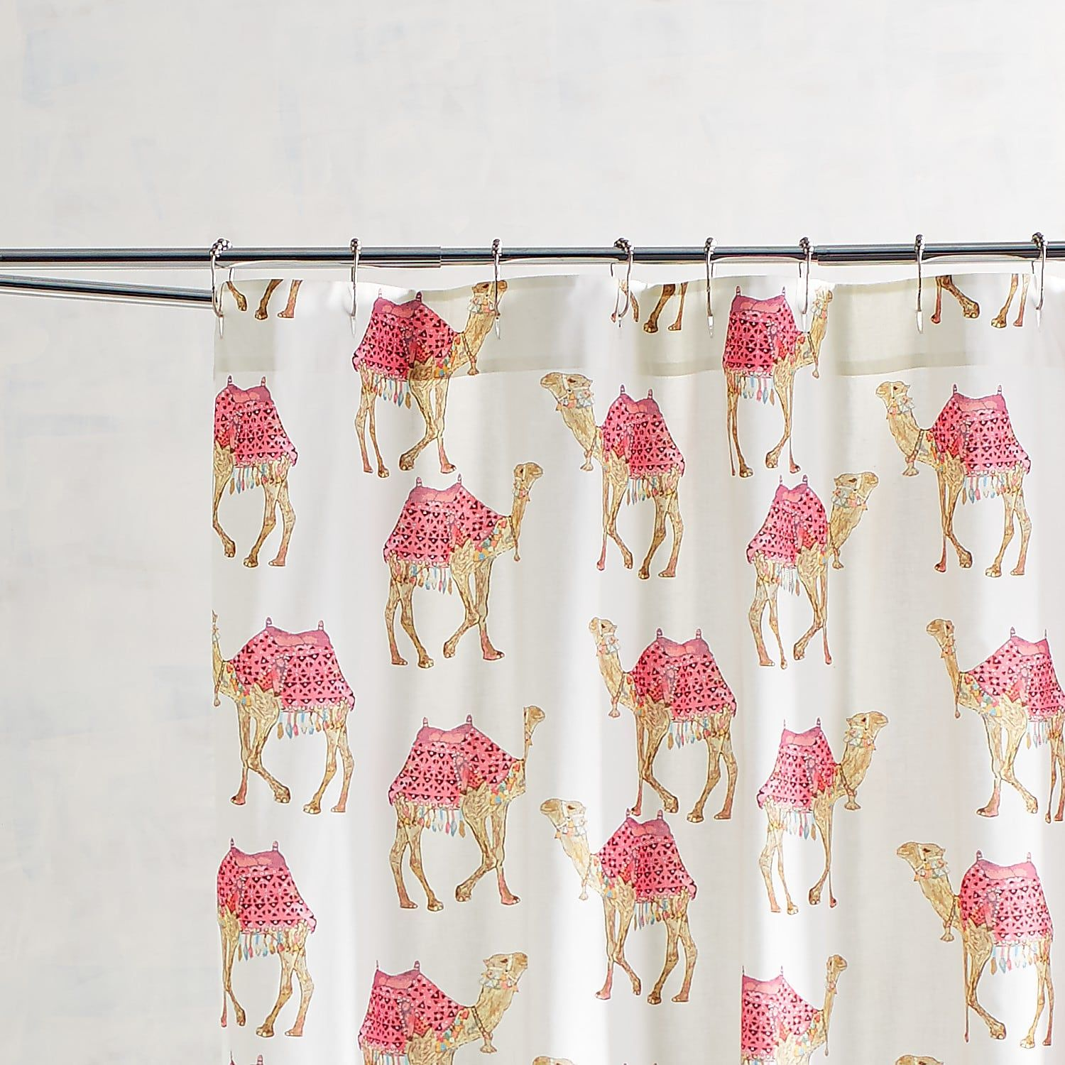 Party Camels Shower Curtain