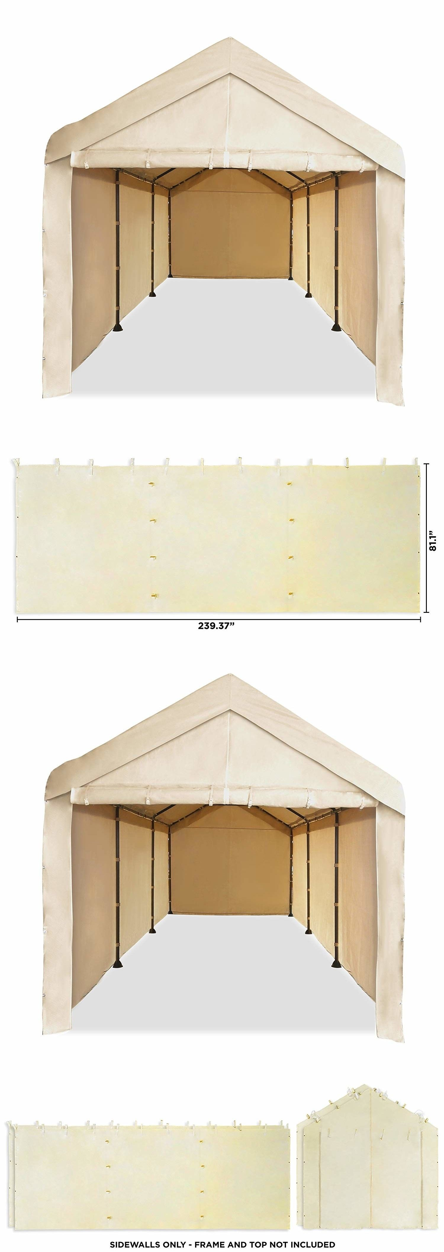 Awnings and Canopies 180992: Canopy Garage Tent Carport Car Shelter ...