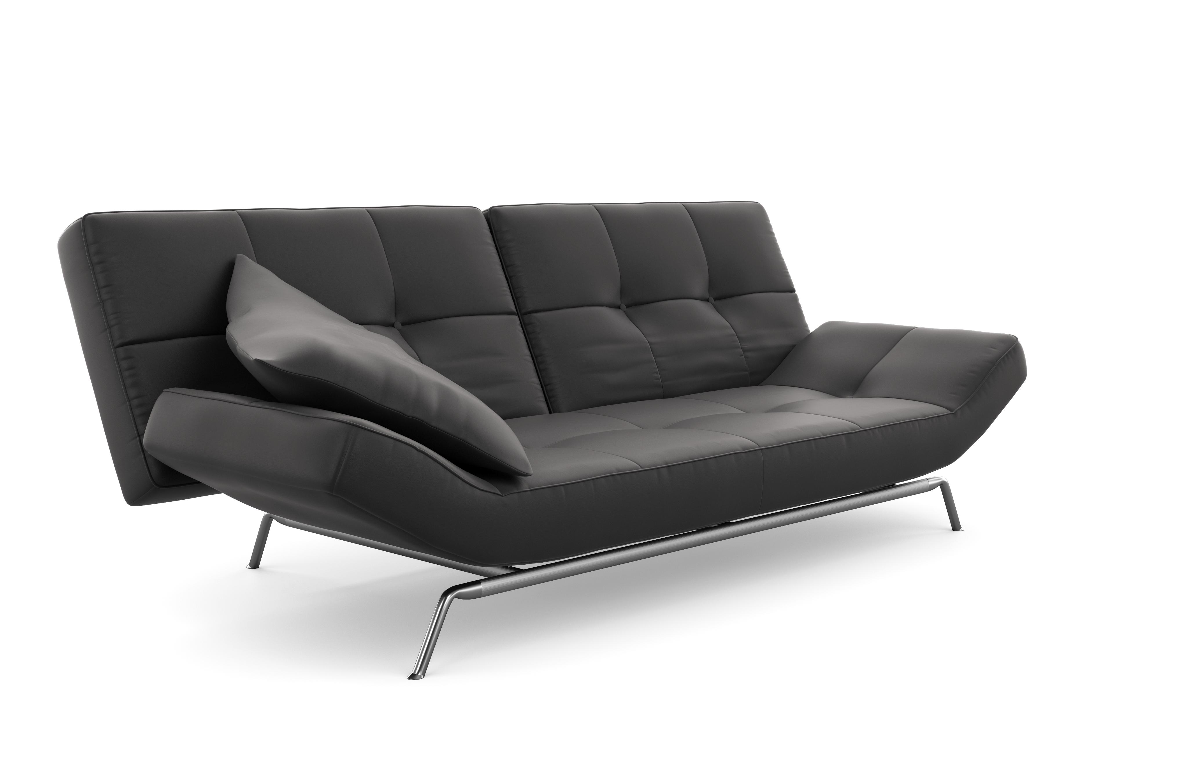 Smala Ligne Roset Sofa Bed Furniture Blue Leather Sofa Couch