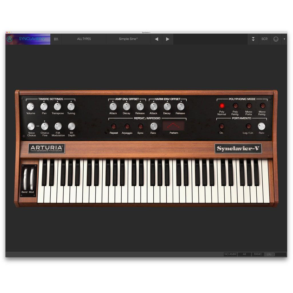 Arturia Synclavier V License Software Synthesizer [Download]