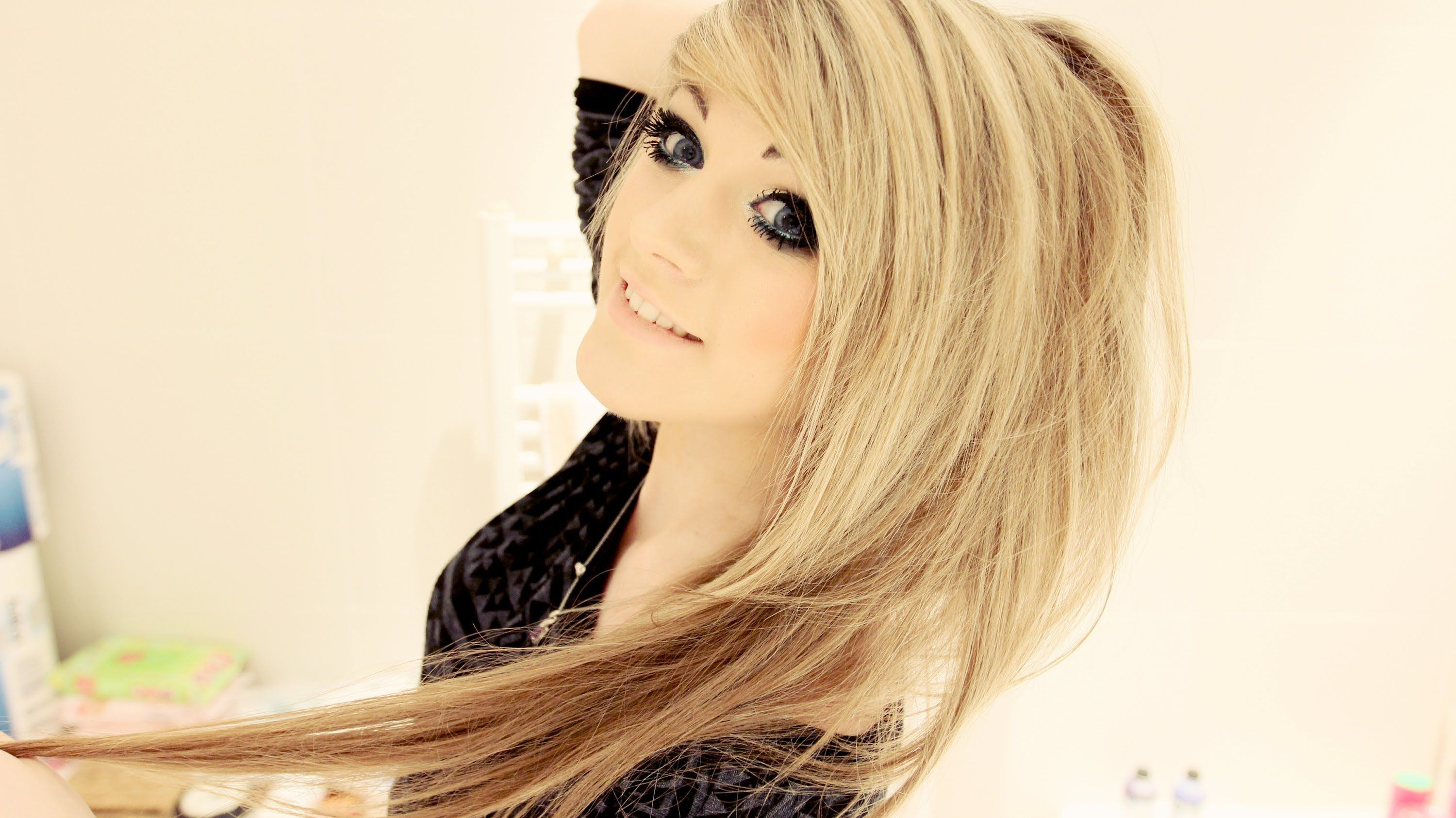 My hair routineueue marina joyce is amazing she is one