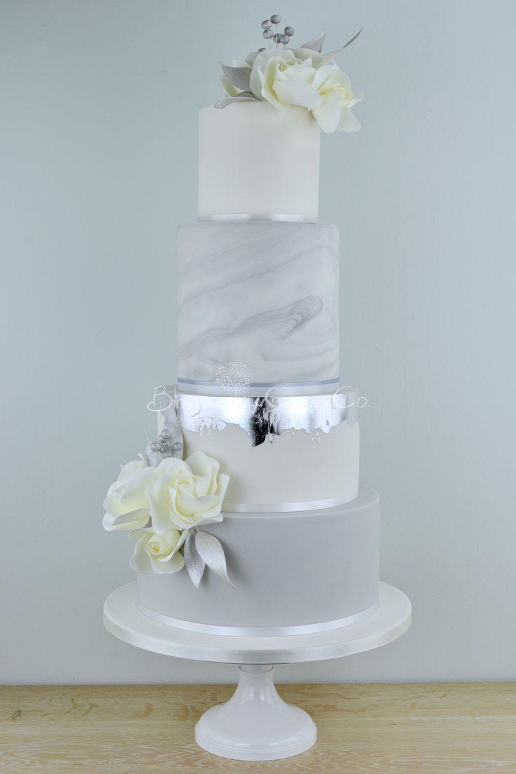 White silver wedding cake google search wedding cake pinterest
