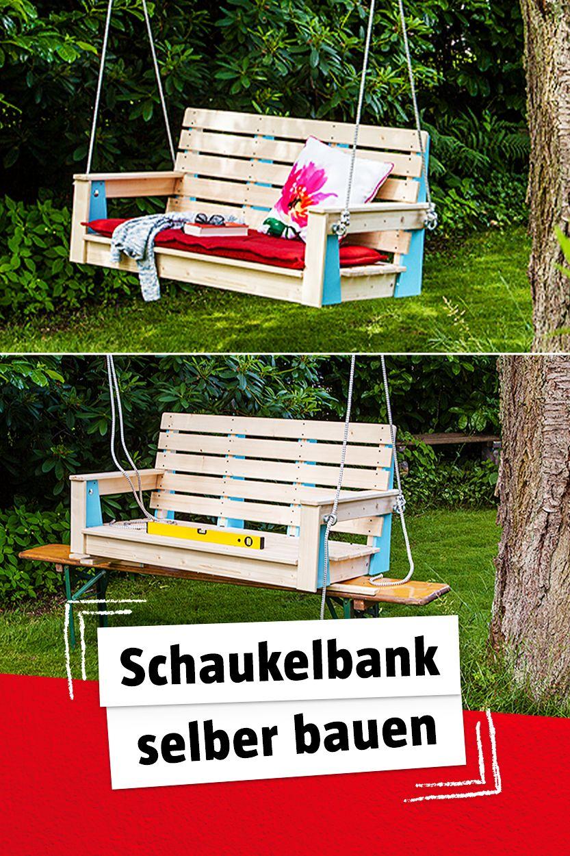 DIY Schaukelbank für Garten