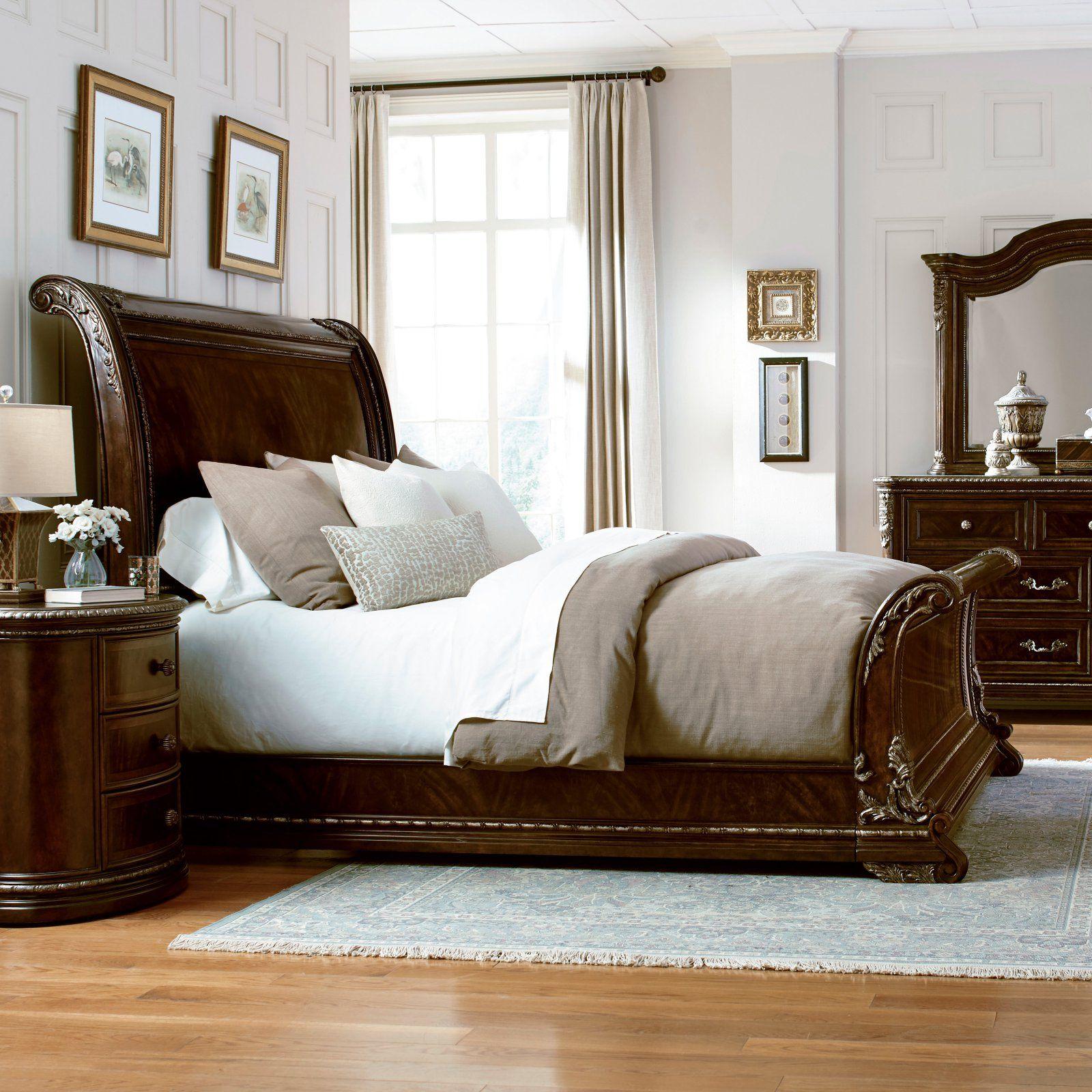 art furniture gables sleigh bed size california king