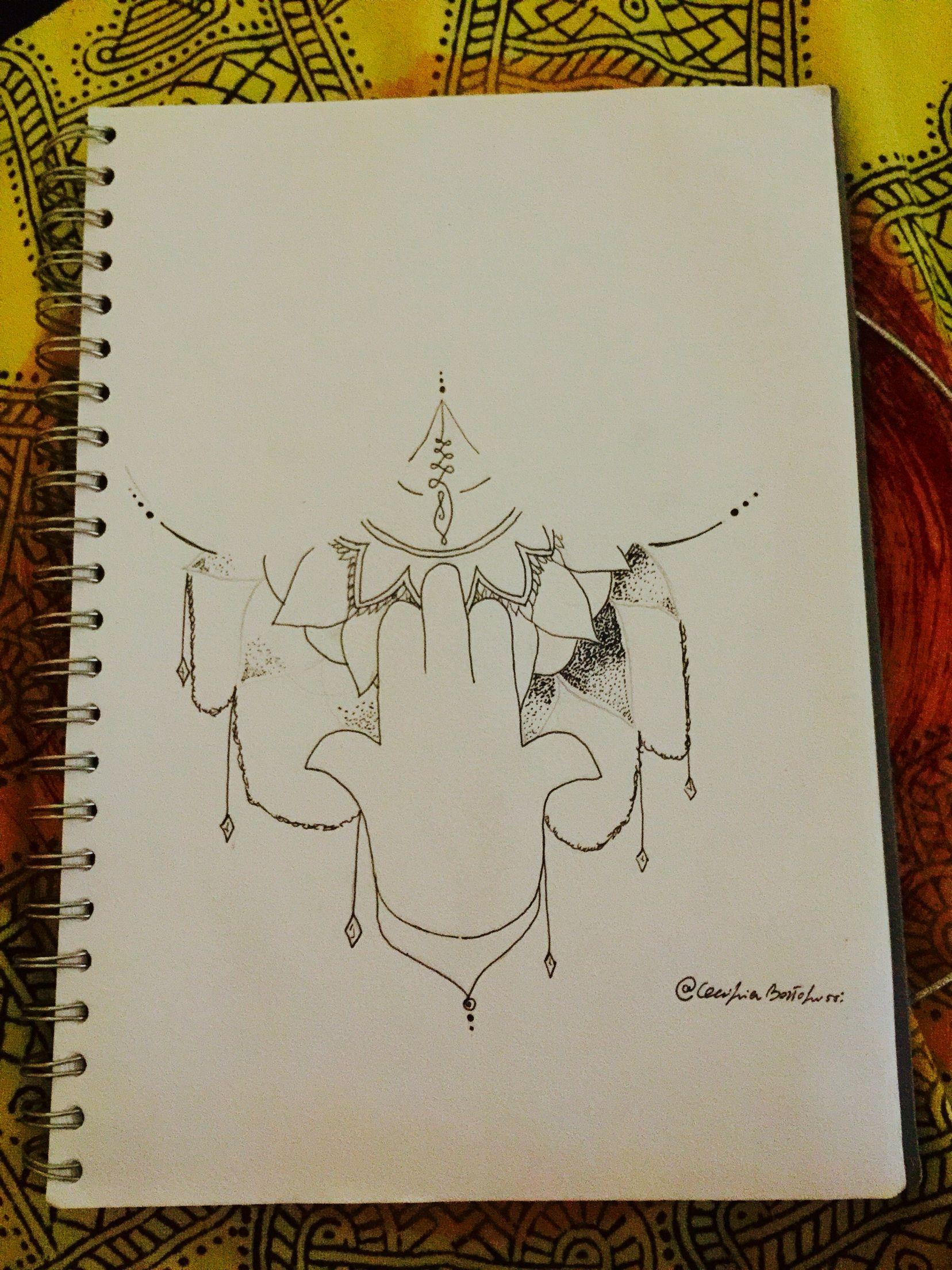 #tattooinmezzoalseno #idee #manodi Fatima #mandala #bortolussigarda