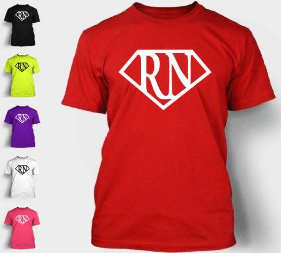 96bf130ec4f7c3 Nurse Superhero T-Shirt RN Pride Emt Lpn Medic Love Superman Logo ...