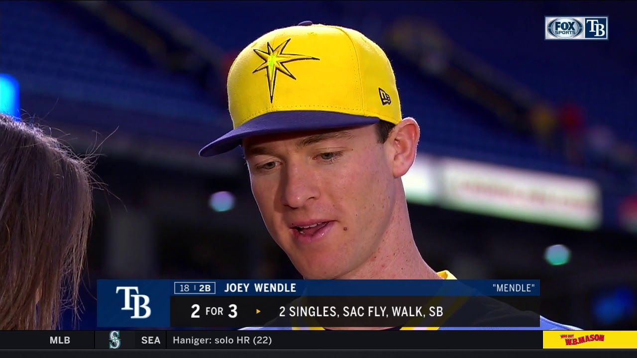 Joey Wendel Postgame Tampa Bay Rays Tampa Bay Tampa