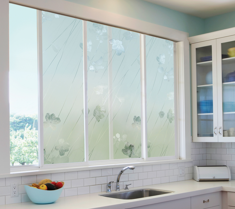 Silver Rose Window Film By Artscape 24 X 36 Decorative Window Film Window Film Designs Window Design