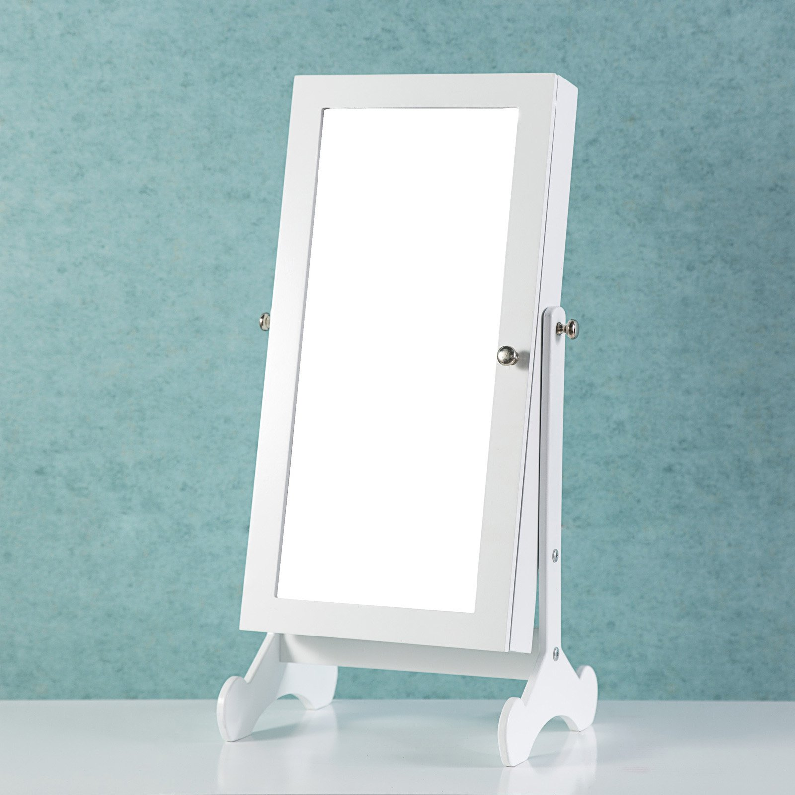 Cloud Mountain Tabletop Free-Standing Make-Up Mirror ...