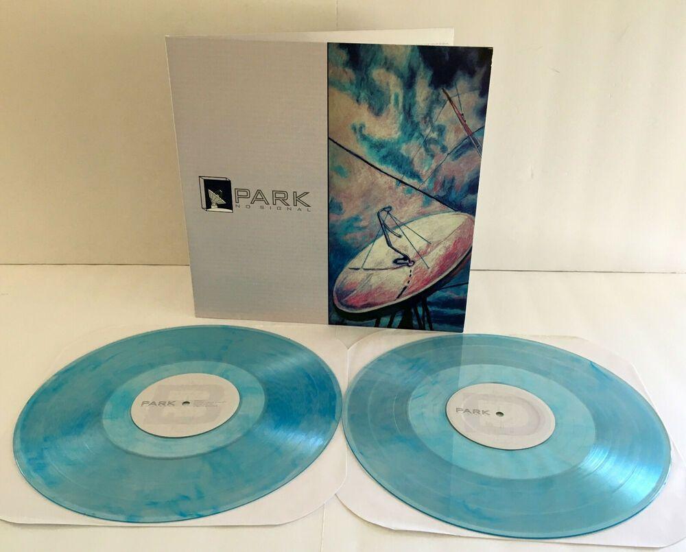 Park No Signal Double Lp Light Blue Vinyl Record W Fold Out Cover Lobster Rec Punkemopunknewwave Blue Vinyl Vinyl Records Vinyl