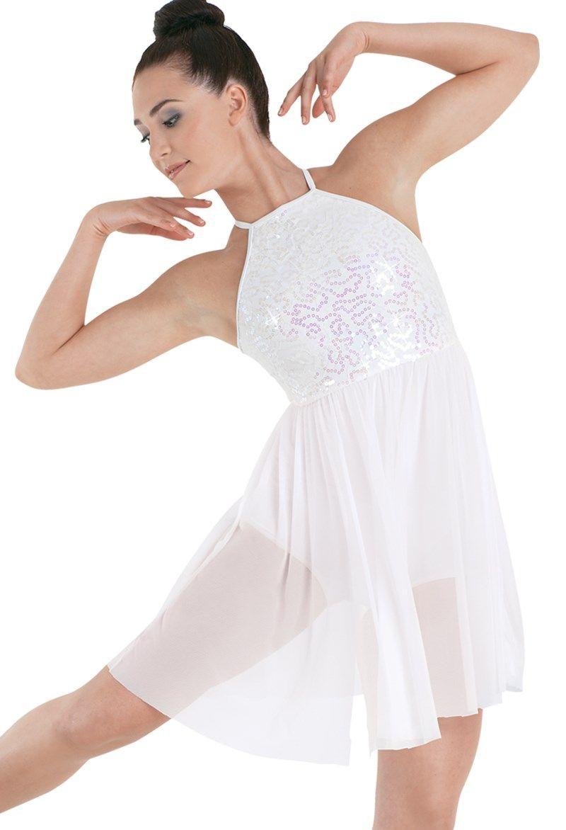 c2bb3b79cf Sequin Lace Empire Waist Dress Figurinos