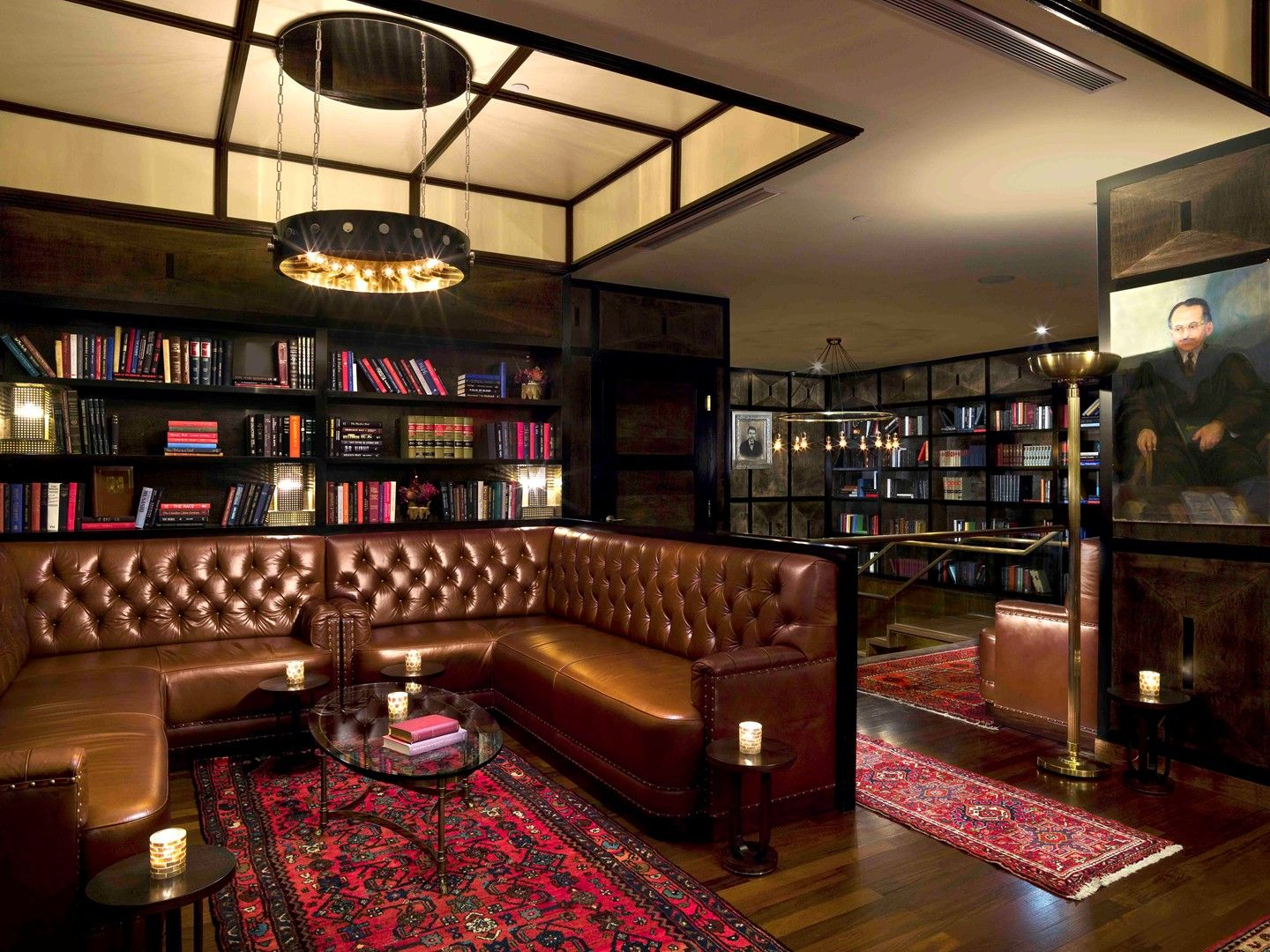 Living Room Bar Nyc Financial District Nyc Hotels Gild Hall A Thompson Hotel