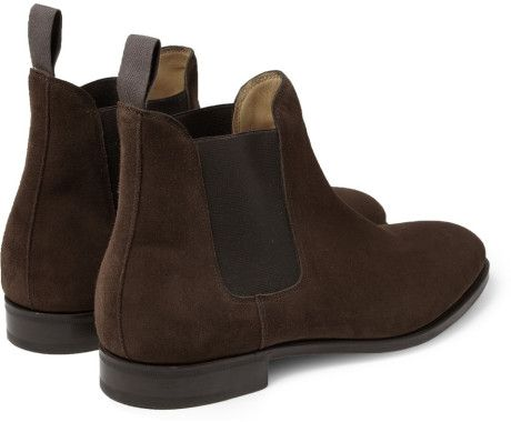 brown suede chelsea boots - Αναζήτηση Google | Tania\'s board ...