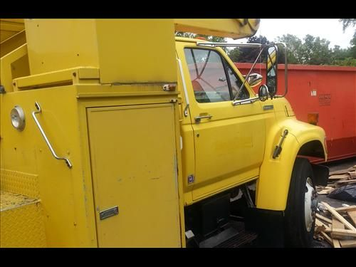 1995 Ford F8000 Bucket Truck For Sale 1995 Ford F 8000 truck