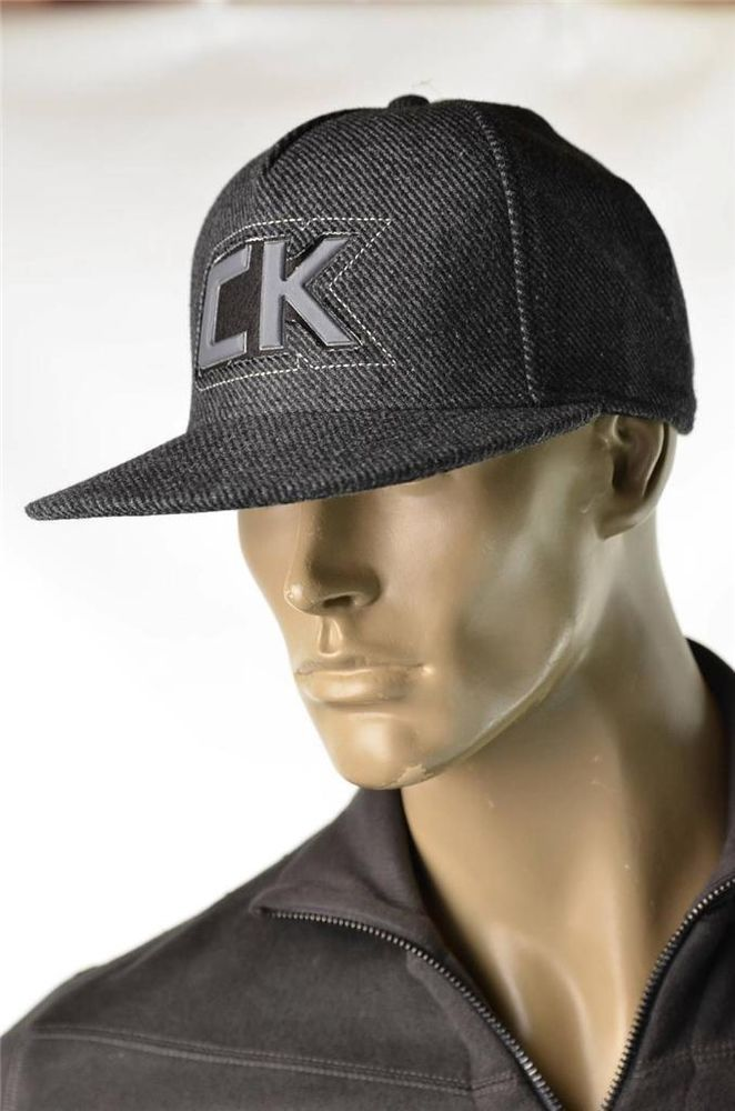 1cfb5bc22c3 Calvin Klein Mens Signature Hat Baseball Trucker Cap One Size NEW