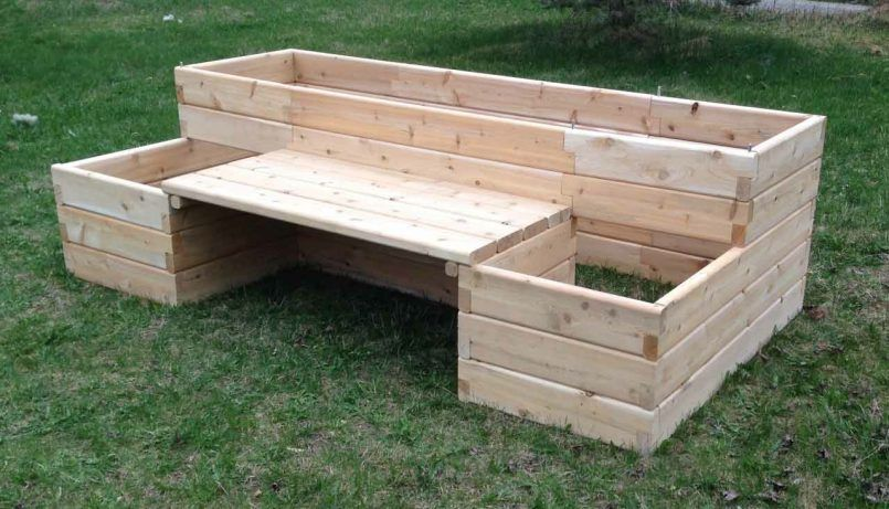 Bedding Raised Garden Bed Kits With Bench Raised Garden Bed Kit