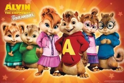 Alvin And The Chipmunks The Squeakquel Alvin And The Chipmunks Alvin And Chipmunks Movie Chipmunks Movie
