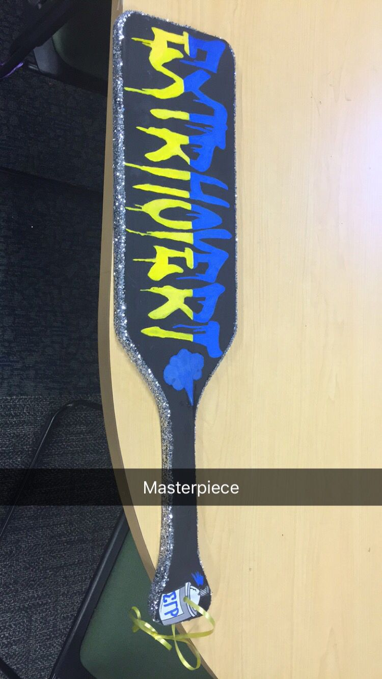 Sigma Gamma Rho Sorority, Inc, A paddle I made for my sister  eeyip