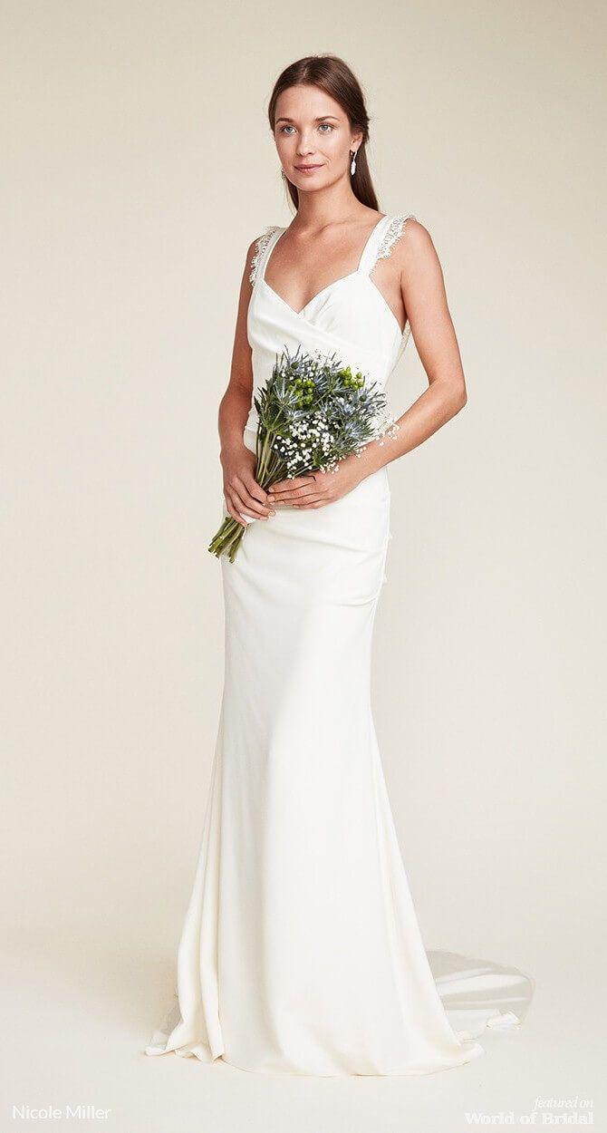 Nicole miller wedding dresses beach wedding pinterest