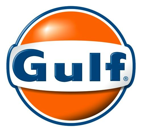 gulf oil logo auto petrol pinterest logos oil and cars rh pinterest com Auto Repair Logo Garage Logo Ideas