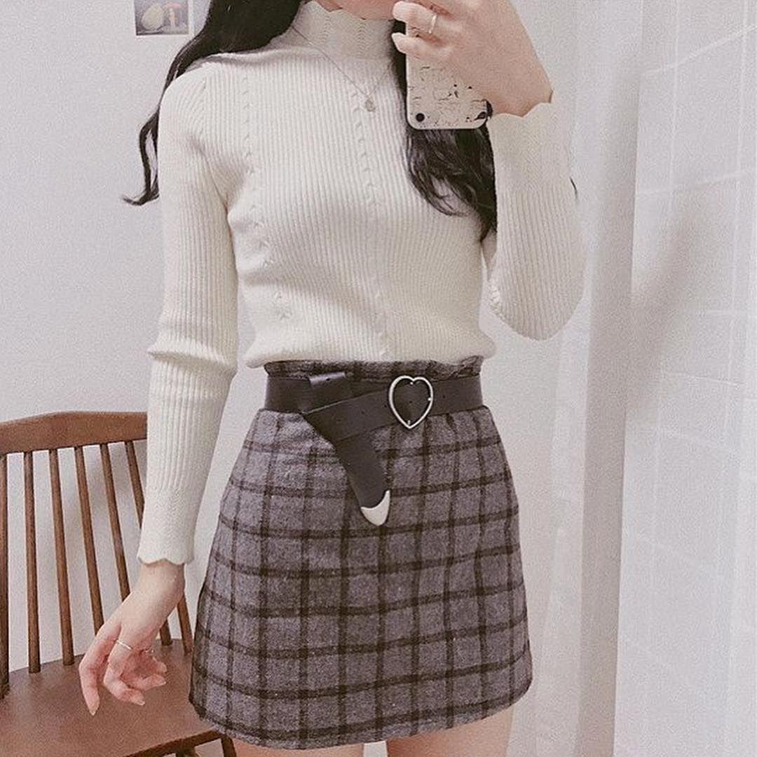 Pin by Babe on sᴋɪʀᴛ   Korean street fashion, Hypebeast