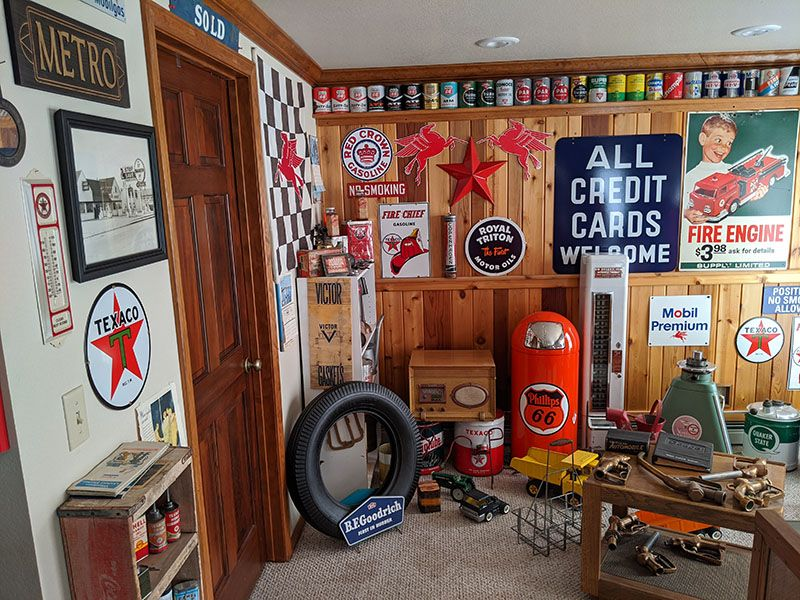 Gas pump collection for sale in 2020 vintage gas pumps gas