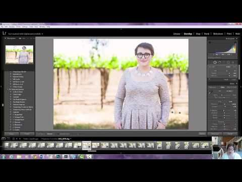 how to add a preset on a video in lightroom